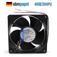 NEW ebmpapst PAPST 4418/2HHPU 12038 48V 13W IP68 waterproof cooling fan