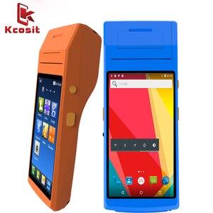 Оплата pos-терминал ручной принтер 58 мм NFC 1D 2D Сканер Штрих-Кода Android 5,1 pos-устройства 5,5