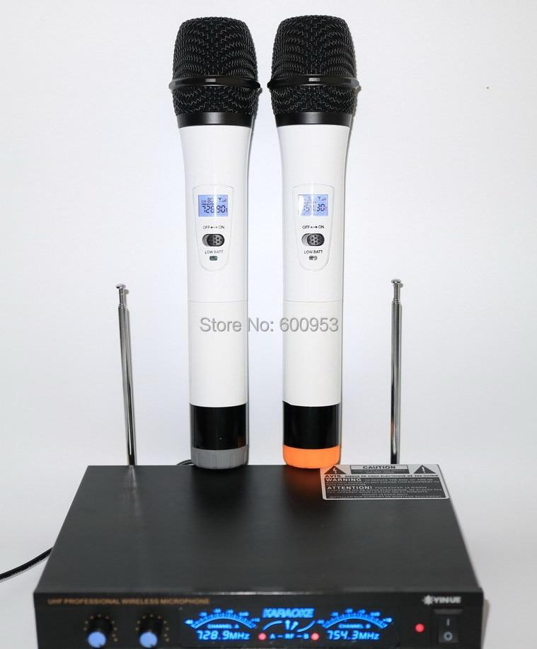 Pro UHF 2 Beyaz El Kablosuz Mikrofon SistemiPro UHF 2 Beyaz El Kablosuz Mikrofon Sistemi