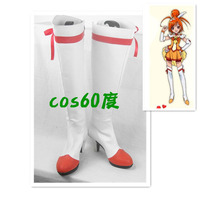 Pretty Cure Smile Sunny Halloween Cosplay Boots Shoes S008(China)