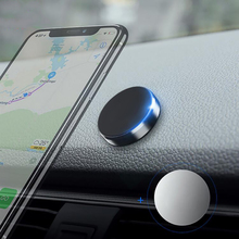 Mini Magnetic Universal Metal Plate in Car Phone Holder Multi-function Magnet Suction GPS Smart Stand Grip Everywhere Cute
