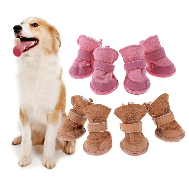 Thick Snow Dog Shoes Pet Chihuahua