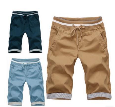 Новинка 2018 г. летние шорты мужские свободные хлопковые короткие брюки Бермуды masculina мужские бриджи тонкие повседневные брюки-карго Шорты мужские Шорты