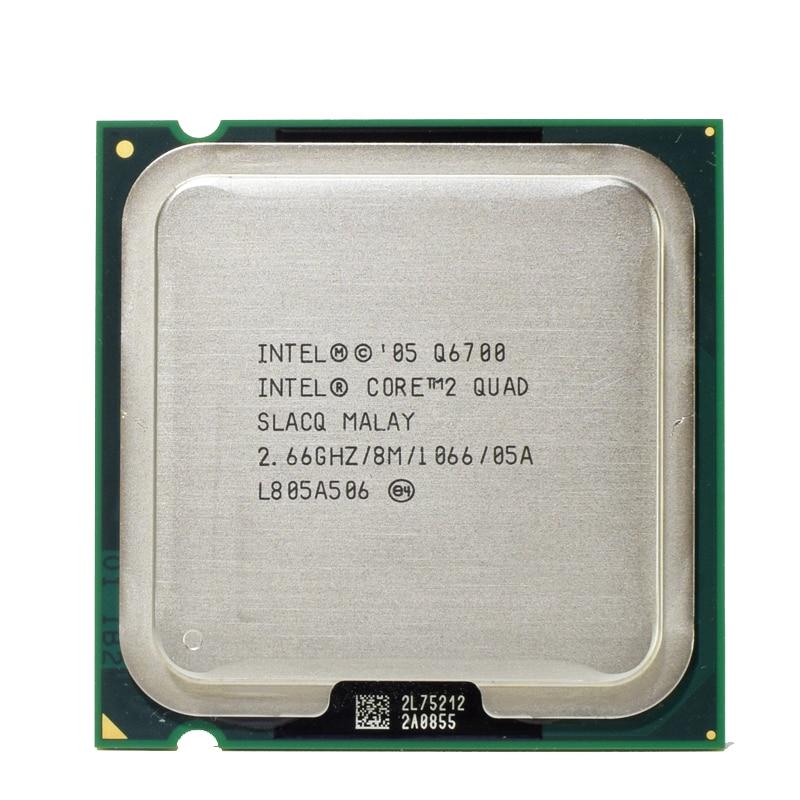Intel Q6700 Core 2 Quad Processor 2.66GHz 8MB Quad Core FSB 1066 Desktop LGA 775 CPU-in ...