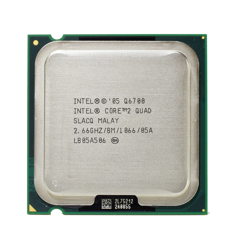 Intel q6700 core 2 четырехъядерный процессор 2.66 ГГц 8 МБ quad-core ФСБ 1066 настольного LGA 775 Процессор