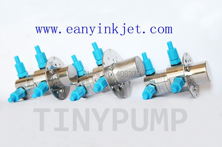 Hot New mirco ink pump for Domino A100 A200 A300 A400 etc inkjet printer (4 ink lines pump)