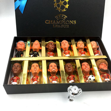 Milan Spain European Champions League Soccer Star Lovely Action Figures Model Toys Fans Collection Football Dolls Gift 2019 14pcs lot european champions league soccer star lovely action figures model toys fans collection football dolls gift 2019