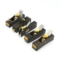 5 Pcs Set DIY Mini Hand Planes Carpentry Carpenter Ebony Joinery Woodwork Tools