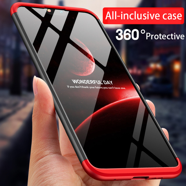 3 in 1 Matte Shell Cover For Nokia 6.1 Plus Case For Nokia X6 2018 Cover 360 Full Protection PC For Nokia 6 7 Plus 2018 Case