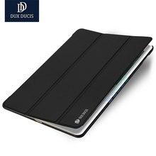 DUX DUCIS Lujo pu funda de piel para iPad aire 2 caso Ultra Delgada de LA PU funda de piel Para iPad aire 2 de la tableta caso