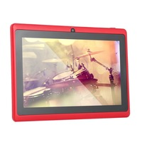 7 Inch Quad core Tablet Computer Q88h All in A33 Android 4.4 wifi Internet Bluetooth 512MB 4GB Convenient game tablet