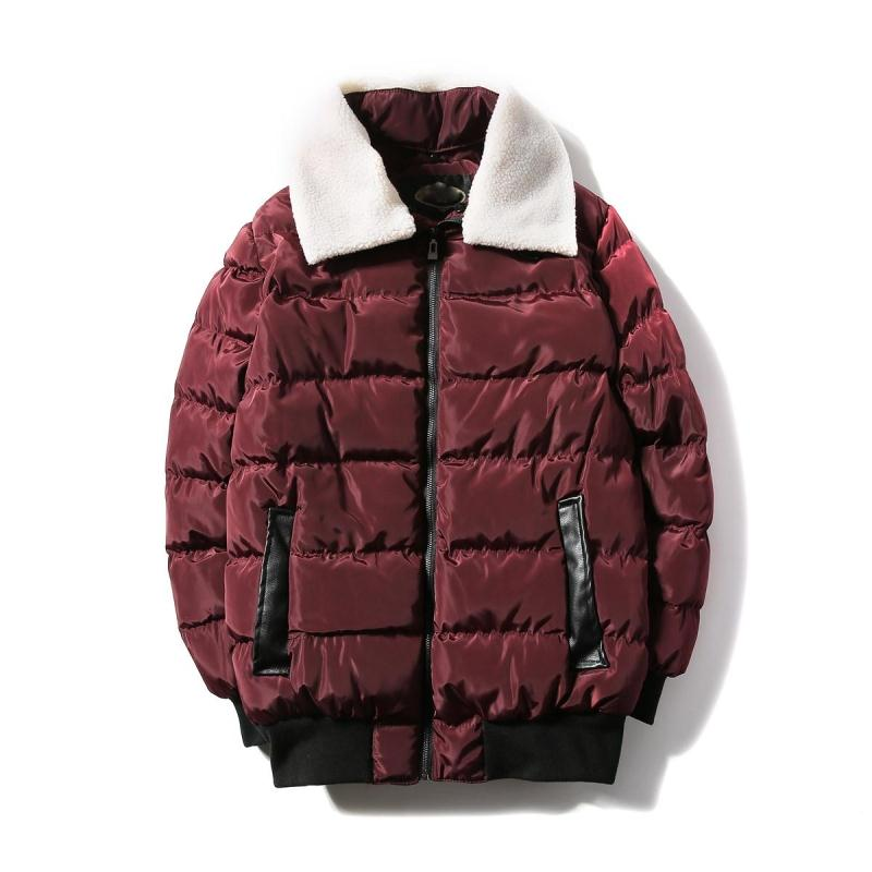 Winter Jacket Men Autumn Winter Duck Down Jacket Men Coat Casual Real Collar Fashion Male Feather Jackets   Parka   Mens Clothing