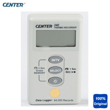 Buy Wall Mount Thermometer Waterproof Temperature Recorder with Datalogger CENTER-340