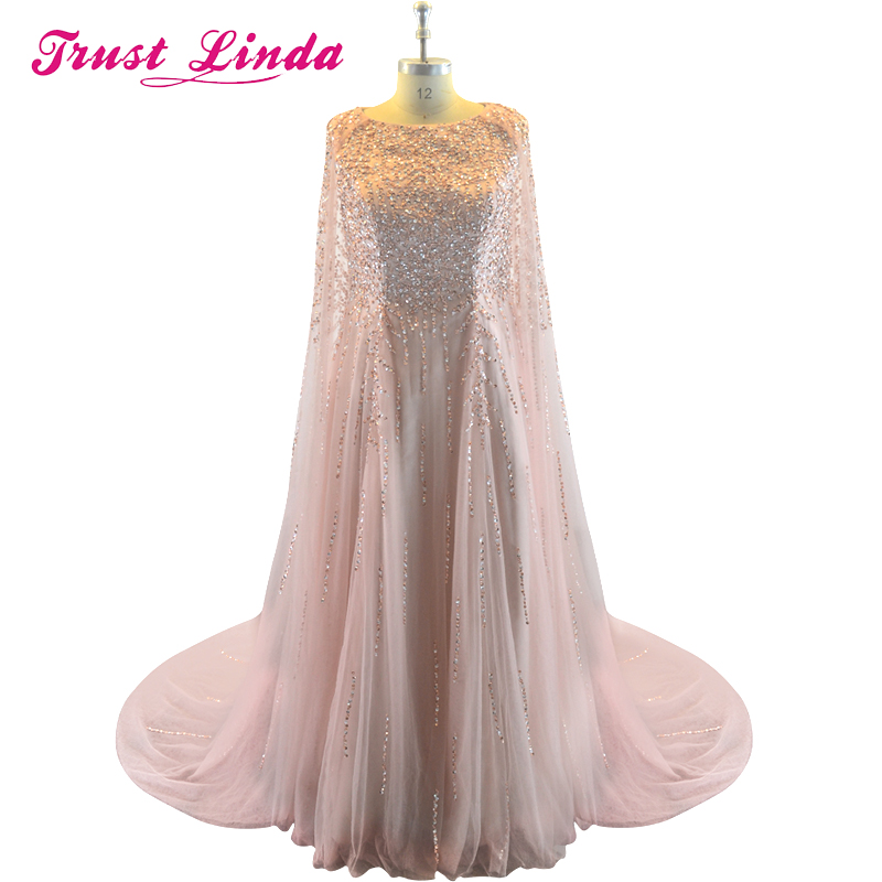 Arabic Style Stunning Sequin A-line Formal Prom Gown Sweep Train   Bridesmaid     Dresses   for Wedding Party Custom Made