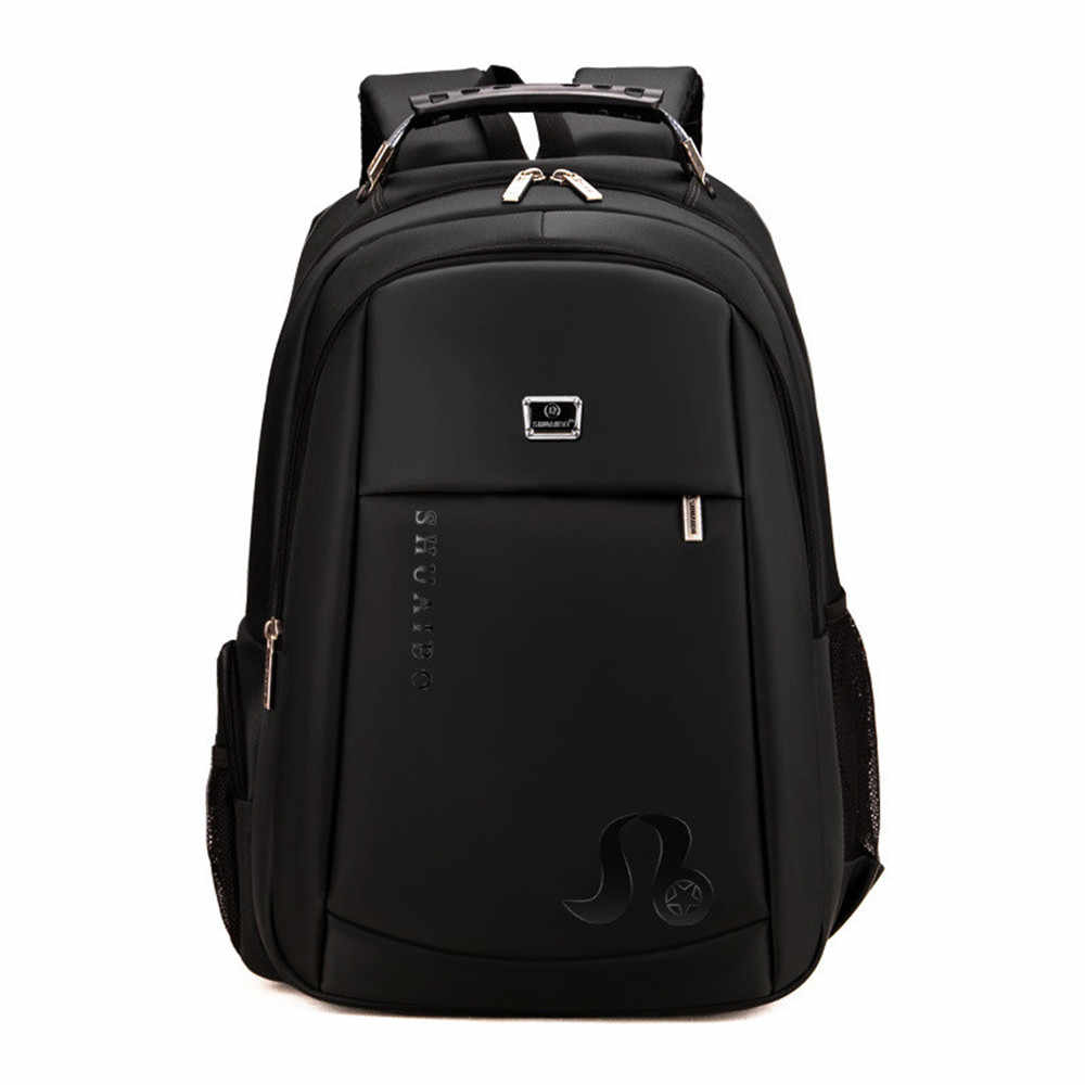 Man's Backpack Multi-functional Large-capacity Student Schoolbag Simple Bag Laptop Backpack Computer Male School Backpacks