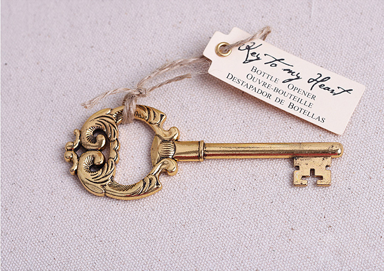 new arrival antiqued key bottle opener wedding favors and gifts wedding supplies wedding souvenirs wedding gifts - Key Bottle Opener