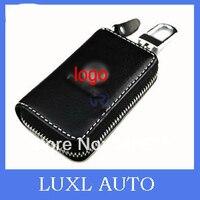 Leather Key Cases For Volkswagen Vw Bora Passat B5 B6 B7 Touareg Touran Tiguan Polo Golf