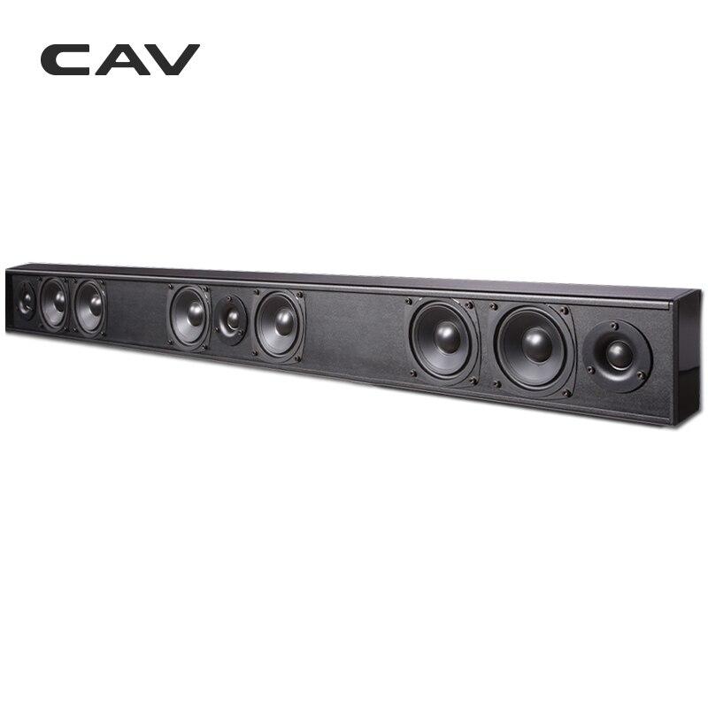 Электрические плиты CAV AL210 пассивный динамик Саундбар Колонка проводной 3,0 канал двухсторонний домашний кинотеатр пассивный динамик s Professinal ТВ динамик кино (Фото 5)
