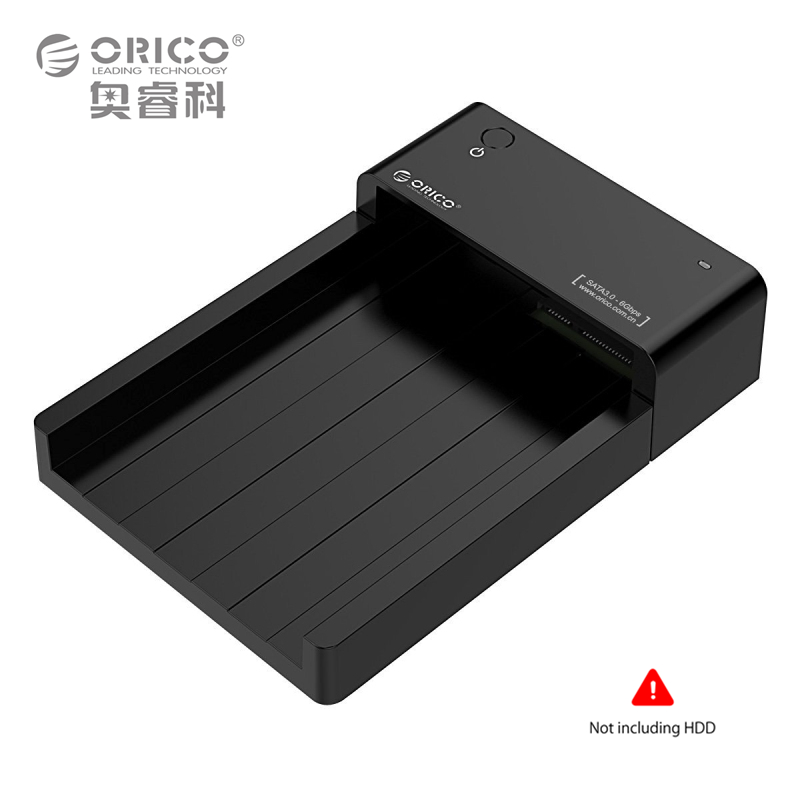 ORICO USB3.0 to SATA External Hard Disk Drive Enclosure HDD SSD Docking Station Support 8TB Drive Tool Free for 2.5 3.5 inch HDD