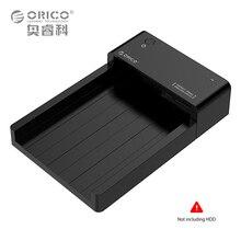 Orico usb3.0 a sata caja externa de disco duro hdd ssd docking Station Soporte 8 TB Unidad Herramienta Gratuita para 2.5 3.5 pulgadas HDD