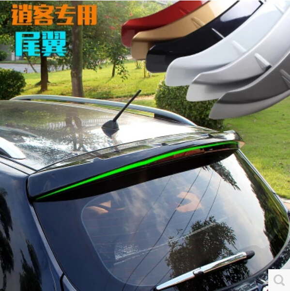 PAINT SPOILERS ABS CAR REAR WING TRUNK LIP SPOILER FOR NISSAN QASHQAI 2008 2009 2010 2011 2012 2013 FAST BY EMS car rear trunk security shield shade cargo cover for nissan qashqai 2008 2009 2010 2011 2012 2013 black beige