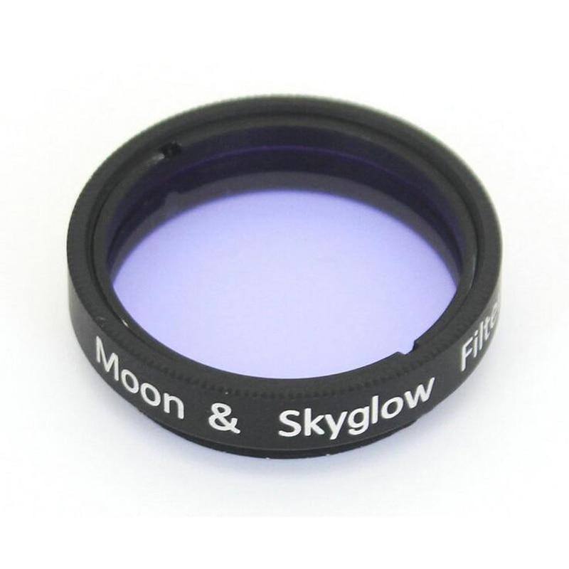 1.25 pouce Lune et Skyglow Filtre pour Astromomic Télescope Oculaire Oculaire En Métal Cadre Optique En Verre