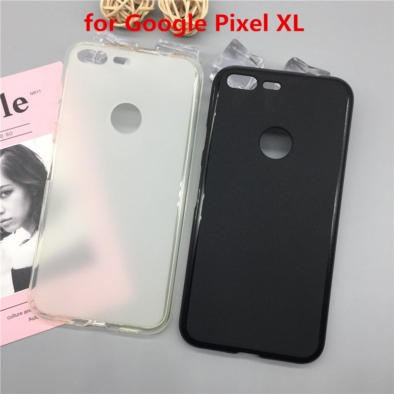 Luxury Case For Google Pixel XL Soft Silicon Phone Para For Google Pixel XL TPU Fundas Protector Full Cover Shell Black Cases