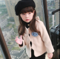 Free shipping Autumn/winter fashion elegant long sleeve short Coat children of brief paragraph woollen coat