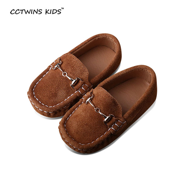 CCTWINS KIDS spring autumn children genuine leather shoes for toddler walking shoes baby boys brand camel shoes kids flat shoes