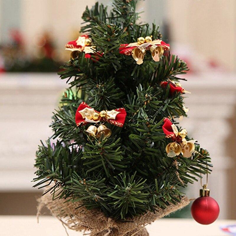 Mini Black Christmas Tree: 10pcs Mini Cute Bow Christmas Tree Decoration Hanging