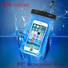 For iphone 6 4s/5s 5.77 Inch Waterproof  2016 Hot  For Samsung galaxy s3 s4 s5 Diving Bag Underwater Pouch Case water proof case