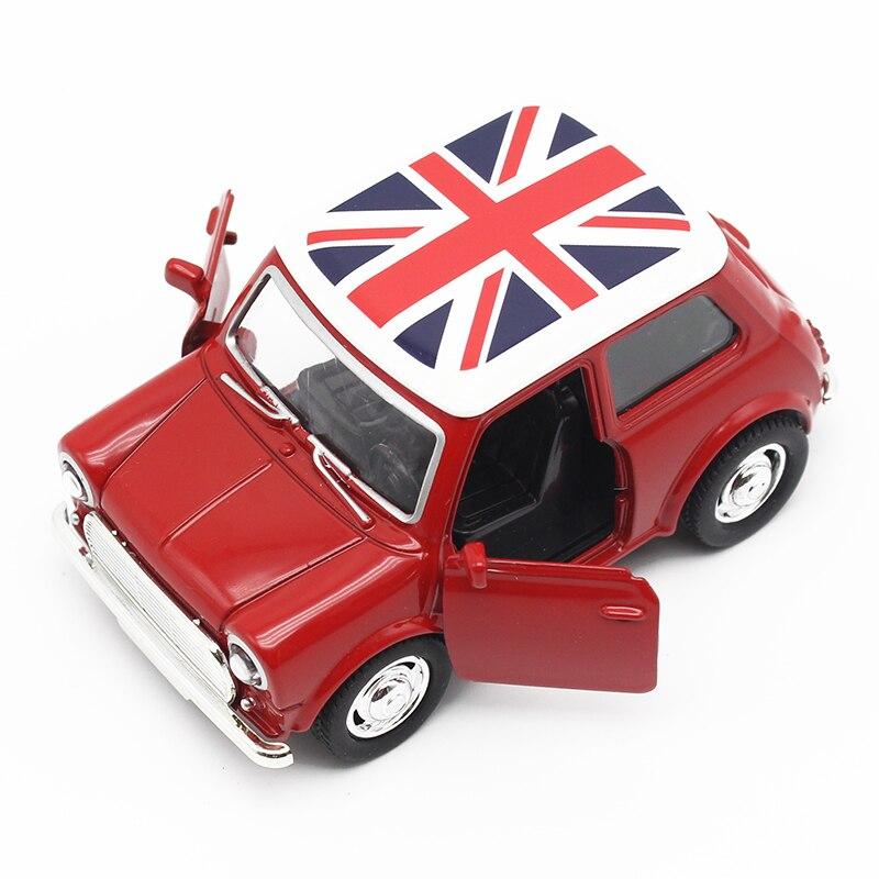Toy Cars För Pojkar Mini Cooper Alloy Bil Baby Barn Leksaker För - Bilar och fordon - Foto 2