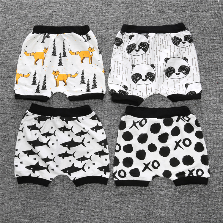 SK097 Boys   Shorts   Summer Girls Cotton   Shorts   for Girls Children Harem Pants Kid   Shorts   Kids Clothes 2018 New product