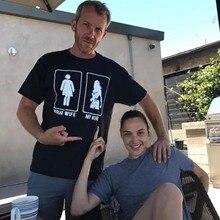 Чудо-Женщина Gal Gadot моя жена ваша жена хлопок Забавные футболки с коротким рукавом для мужчин Джерси хлопок