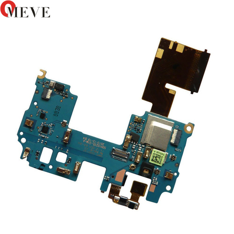 Original For Htc One M8 Mainboard Motherboard Fpc Connector Main Flex Cable With Microphone