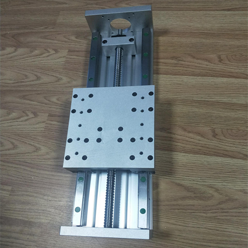 Custom Made High Precision XYZ Linear Stage Linear Actuator HL-150c  Travel 500 Mm