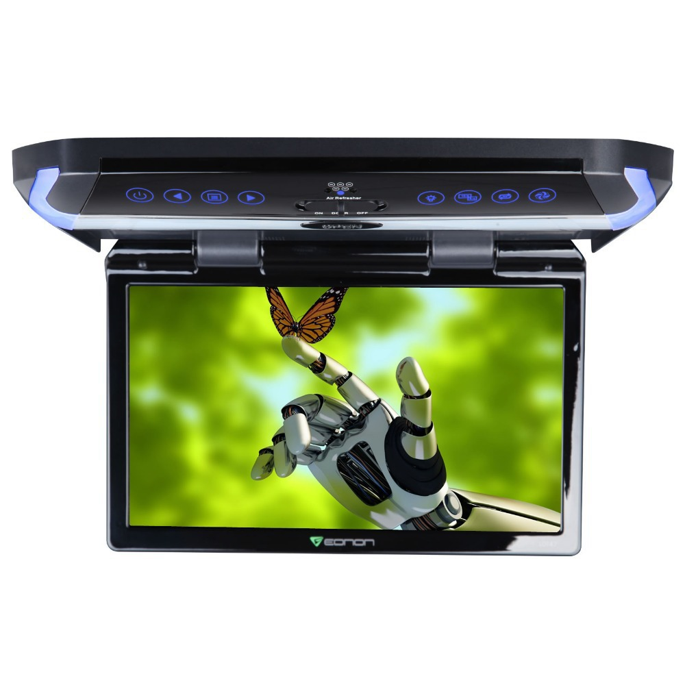 11.6 Digital In-car Flip Down Car Roof Monitor Roof Mounted Monitor (Metal Gray & Beige Color Optional) with HDMI Input