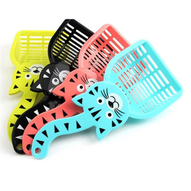 Pet Supplies Cat Litter Scoop Cat Shovel Pet Environment Cleaning Supplies Bedpan Toilet Accessories Random Color