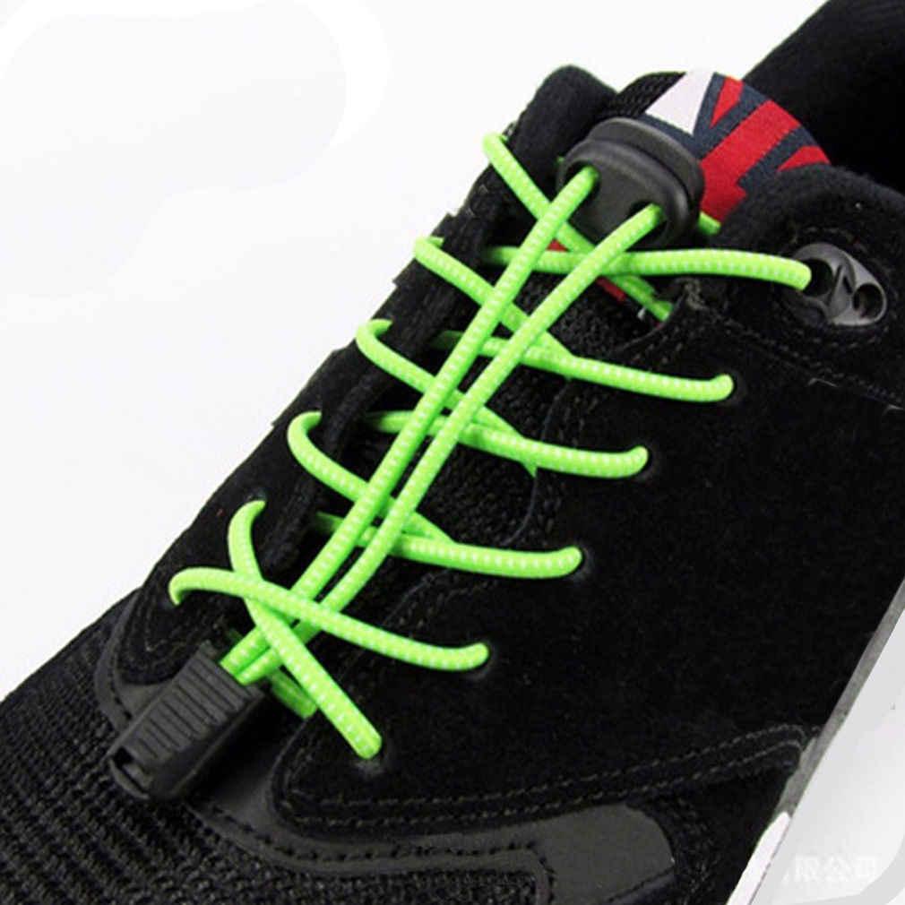 341d8c3112a Nuevo elástico corbata de los cordones de los zapatos Running Atlético  zapatillas cordones de zapatos 4