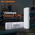 2 шт. COMFAST Беспроводной Long Range CPE, 150Mbs, 11n, 2.4 ГГц WIFI Усилитель Сигнала и Усилитель На Открытом Воздухе передача 1-2 КМ беспроводной мост