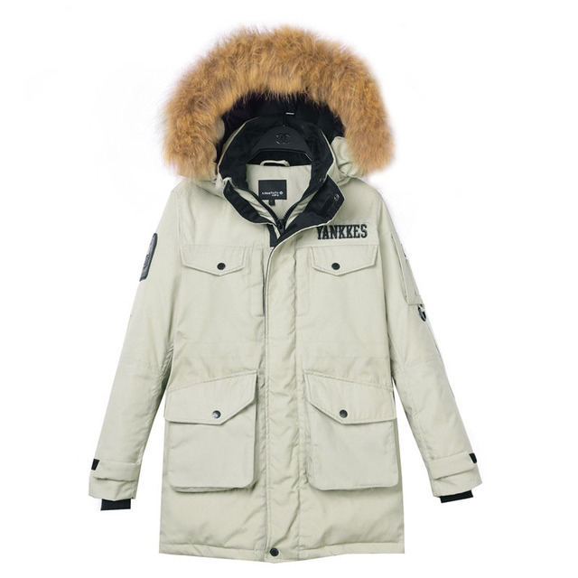Aliexpress Monikubu mujeres espesar invierno ropa de talla grande cuello de  Piel con capucha Parkas capa 13d3029359ff
