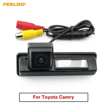 FEELDO 1Set Car Rearview Backup Water-proof Parking Assist Camera For Toyota Camry XV40 (2007-2011) #FD-4004