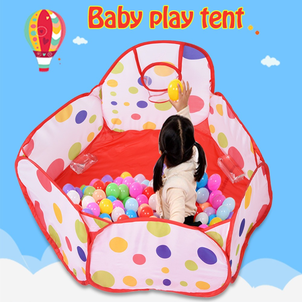 Baby Foldable Pool Pit tent Portable Folding Pop-up Play Tent Ball Pool Pit Children Educational Ocean Ball Pit Pool Game tent