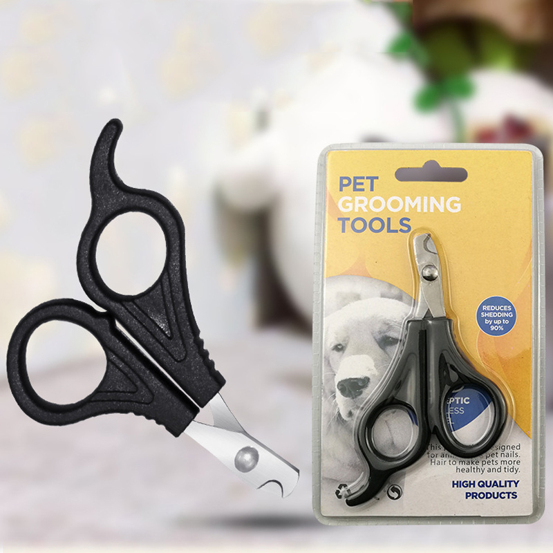 Professional Pet Cat Dog Nail Clipper Cutter With Sickle Stainless Steel Grooming Scissors Clippers for Pet Claws Dog Supplies
