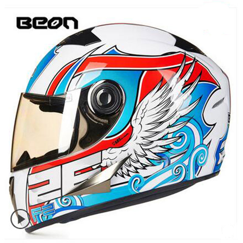 BEON Motorcycle helmet Motorbike motocross Full Face helmet Urban racing Casco Capacete Protective Gear ECE B500 free shipping nenki motorcycle helmets motocross racing helmet motorbike full face helmet capacete de moto for men and women 13 color