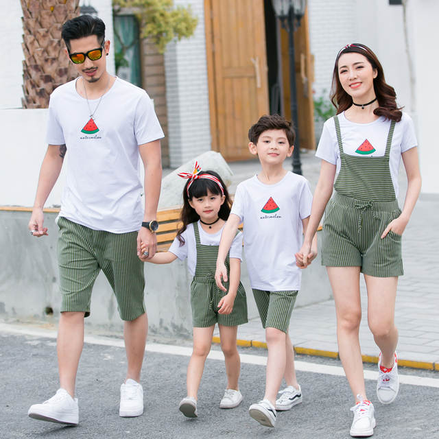 81f445f83fd7 Online Shop Family Look Mother Father Daughter Son Matching Clothes 2018  Summer Cotton Family T-shirts Matching Outfits Mom Dad Kids Clothes