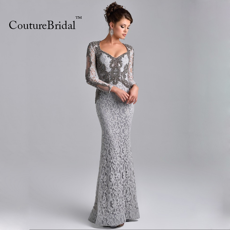 Long Evening Gowns with Patterns