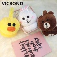 New Hot Sale Winter Plush Earmuffs Small Bear Chick Rabbit Christmas Gift Women S Men S
