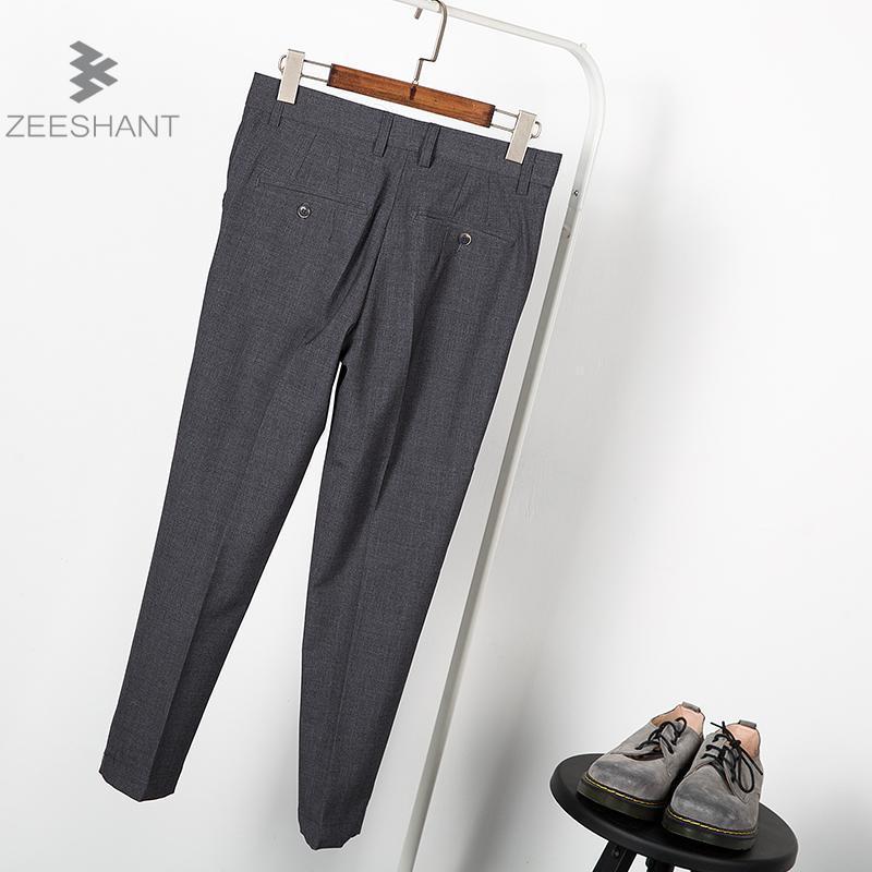 004e8ebcc850 Man Business Pants Men s Suit Pants Thin Line Dress Pants Men Slim Design  Classical Work Pants For Male 2018 Summer Autumn-in Suit Pants from Men s  Clothing ...