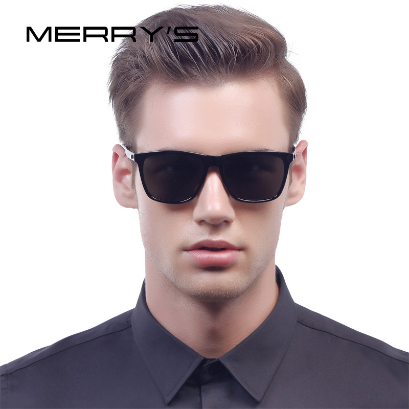 MERRY'S Fashion Unisex Retro Aluminum Sunglasses Men Polarized Lens Brand Designer Vintage Sun Glasses For Women UV400 S'8286